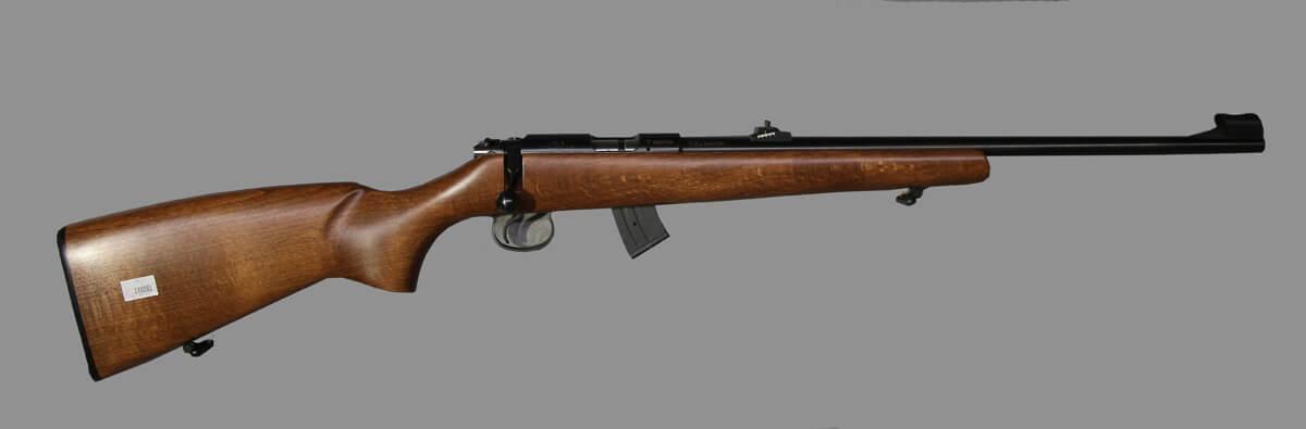 Нарез. оруж. CZ 455 Thumbhole Grey kal. 22LR 5-зар.магазин